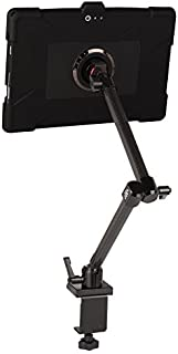 The Joy Factory MagConnect Carbon Fiber Clamp Mount with aXtion Edge M Rugged Shockproof Case for Surface Pro (2017) and Surface Pro 4 (MWM203)