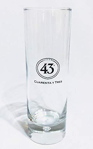 Licor43 Cristal, Cuarenta y Tres/Vasos de licor/Liquor/Vidrio/Gastro/Fiesta/Bar.