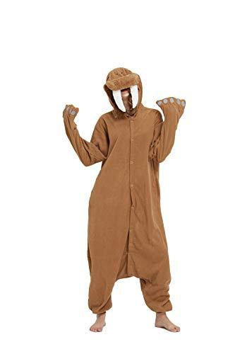 Zinuods Women Men Adult Walrus Onesies Pajamas Animal Cosplay Costumes L