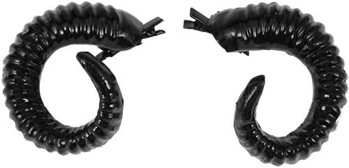 Clip de pelo de cuerno de diablo de ovejas Horquilla de pelo clip de Halloween accesorio de pelo accesorios de disfraz de Halloween suministros de fiesta conveniente manejado