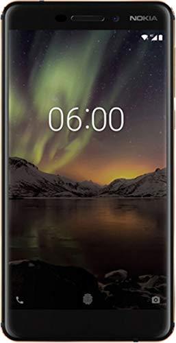 Nokia 6.1 - Smartphone 32GB, 3GB RAM, Dual SIM, Black/Copper