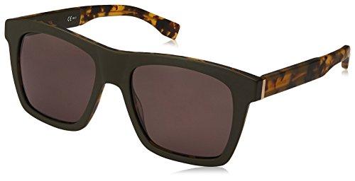 BOSS Orange BO 0336/S Gafas, MT GREENHVNA/GY GREY, 53 Hombres