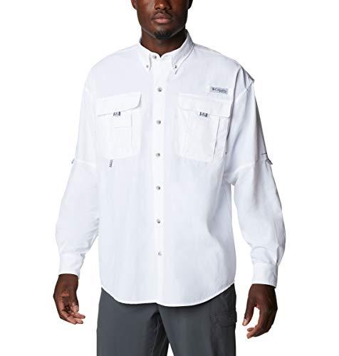 Columbia Bahama Icon - Camisa de Manga Larga para Hombre, Hombre, Bahama Icon Camisa de Manga Larga, 192937, Color, Large