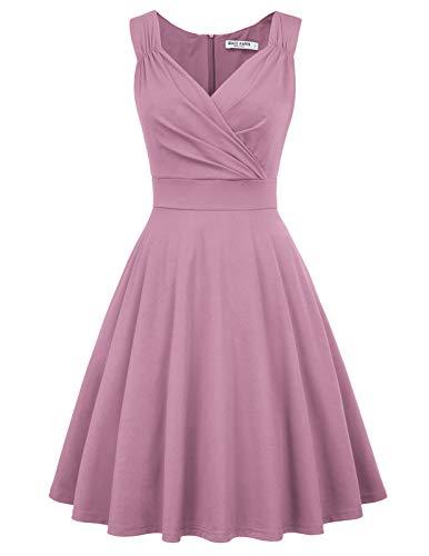 1950er Kleid Audrey Hepburn damenkleid 50s Kleid elegant Damen Partykleider Mode Kleid CL698-14 XL