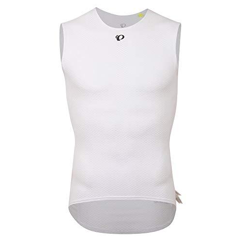 PEARL IZUMI Transfer Mesh 2021 - Camiseta de tirantes para hombre, color blanco, talla XL