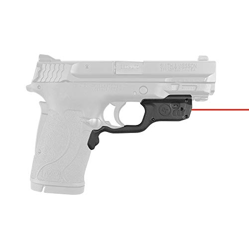 Crimson Trace LG-459 Laserguards with Red Laser, Heavy Duty Construction and Instinctive Activation for Smith & Wesson M&P9EZ, M&P380EZ and M&P22 Compact, Defensive Shooting and Competition