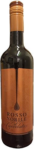 1 Flasche Rosso Nobile al Cioccolata Schokoladenwein 75cl / 750ml Flasche / 10% Vol.