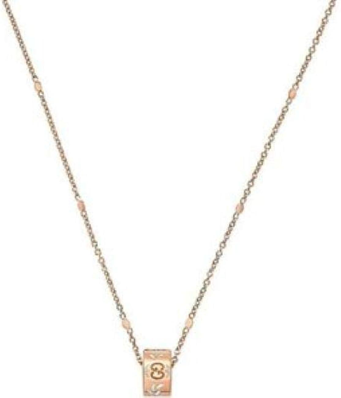 Gucci, collana girocollo in oro rosa YBB434553002