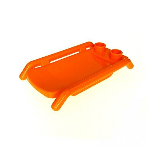 1 x Lego Duplo Trage orange Liege Barre Bett für Figur Krankenwagen Stretcher 5794 5795 6424