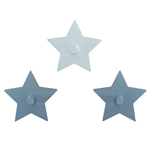 roba wandhaken 'Little Stars' met sterrenmotief, wandkapstok & decoratie voor baby- & kinderkamer