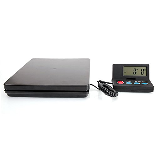 Smart Weigh Digital Heavy Duty Shipping and Postal Scale, 110 lbs Capacity x 0.3 oz Readability, Postage Scale and Luggage Scale(SF-890)