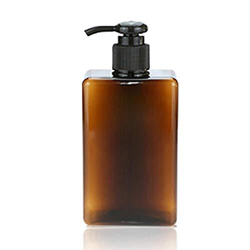 Contenant Cosmetique VideShampooing Gel Douche Presse Bouteille Conditionneur Cheveux Lavage Corps Liquide Vide Salle De Bains Distributeur Savon Bouteilles Rechargeable 250/300/500 ML-1849G