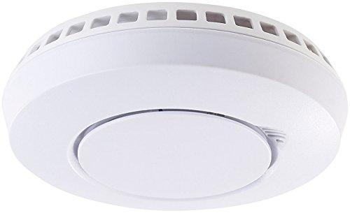 VisorTech Hitzemelder: Funk-Hitze-/Rauchmelder vernetzbar, Opt. App-Anbindung per WMS-250.gw (Fotoelektrischer Rauchwarnmelder)