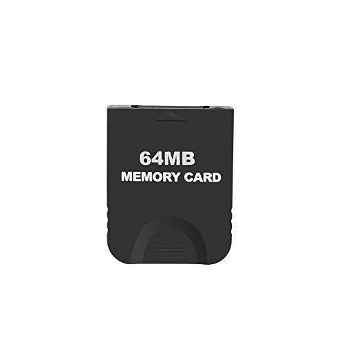Ruitroliker Schwarz 64M Speicherkarte für Gamecube/Wii NGC