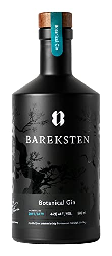 Bareksten | Botanical Gin | 500 ml | norwegischer Gin| norwegische & naturbelassene Botanicals | fruchtiger Geschmack | würzige Aromen | Doppelgoldmedaille bei Francisco World Spirit Competition