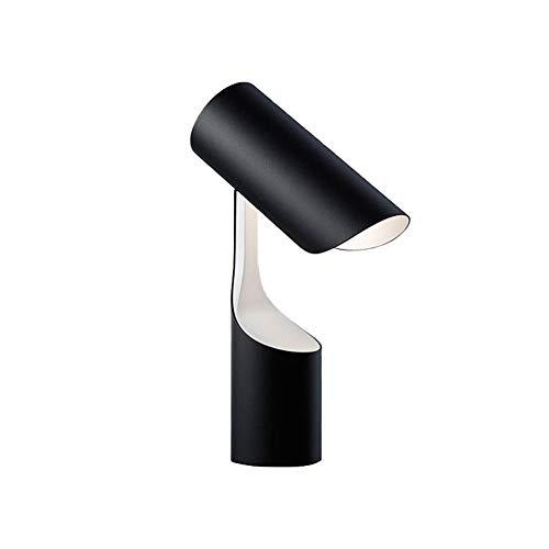 HENY Brazo Oscilante LED Lámpara De Flexo Escritorio,Cuidado De Ojos Nórdico Minimalista Geométrica Metal Lámpara De Mesa,Multi-Ángulo Ajuste,para Negocio Oficina Casa-Un 22 * 34cm