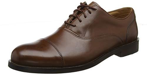Clarks Herren Coling Boss Derbys, Braun (British Tan Leather), 44 EU