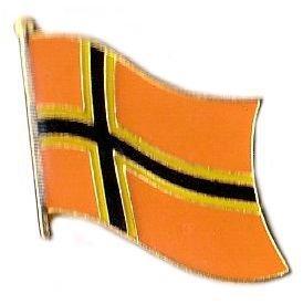 Flaggen Pin Deutscher Widerstand Fahne Flagge Anstecknadel