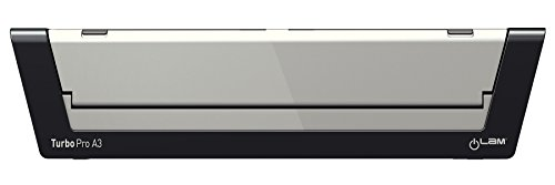 Leitz Plastificadora A3, Ideal para la oficina o la escuela, Plata, Touch Turbo Pro2, iLAM, 75190000