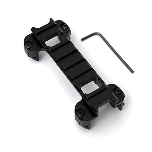 Gocher 20-mm-Picatinny-Weaver-Schiene-Laser-Rahmenmontageklaue Niedrige Profilhalterung für die Airsoft MP5 G3-Serie Cliphalterung