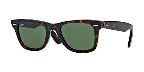 Ray-Ban - Wayfarer - Lunettes de soleil Homme, brown tortoise 902 - weboffer ø50, 50