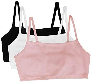 Fruit of the Loom womens Spaghetti strap Pullover Sports Bra 3 Pack product image