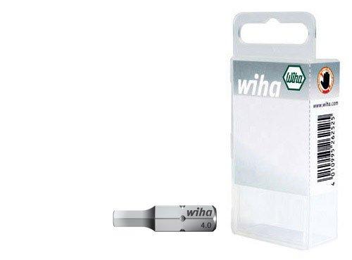 Wiha 7013-934 Hexagonal Head Drill Bits 25 mm 2-Piece Set in Plastic Box
