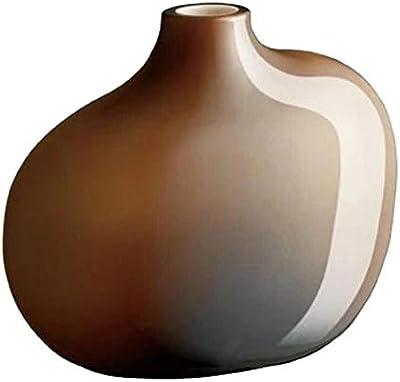 KINTO (キントー) フラワーベース ブラウン W110×D60×H95mm SACCO (サッコ) ガラス01 26051
