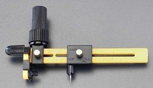 エスコ 直径40-210mmロータリーコンパスカッター EA827DD