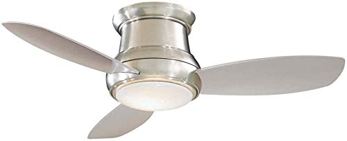 Minka Aire F518L-BN Concept II LED Brushed Nickel 44' Flush...