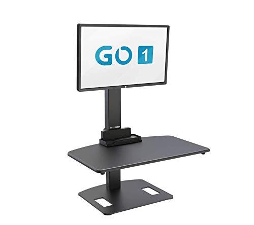 Monitor Yo-Yo Desk® GO1 de un solo brazo con ajuste de altura,...