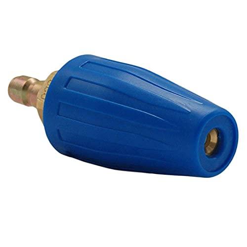LHQ-HQ Lavadora de presión giratoria boquilla turbo 4000 PSI, 3.0 Orificio, 3.0 GPM con 1/4 del enchufe de conexión rápida