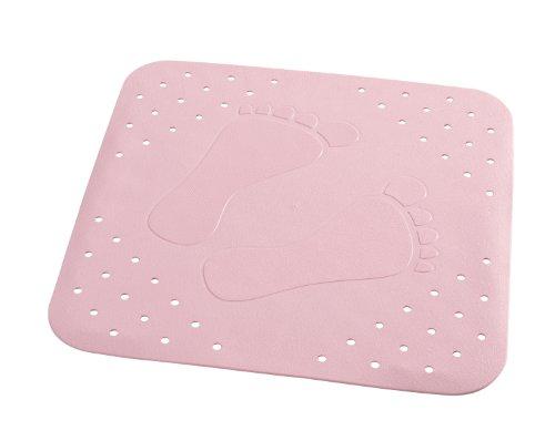 RIDDER 67282-350 Duscheinlage ca. 54 x 54 cm, Plattfuß rosa