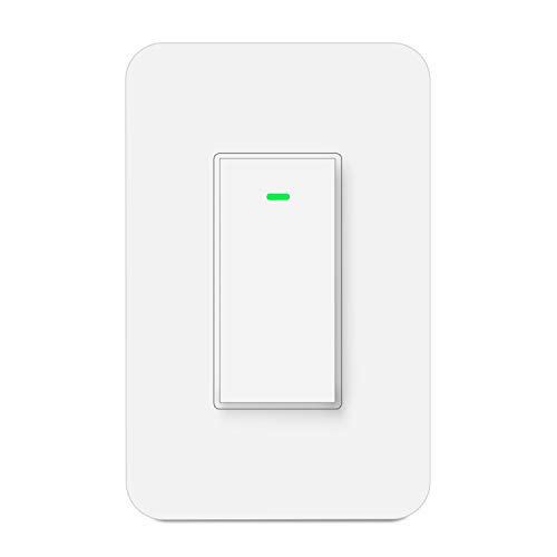 3 Way Smart Switch Work with Alexa Google Home IFTTT, Wireless Remote Control with Smart Life APP, Schedule and Timing, No Hub Required, Neutral Wire Required