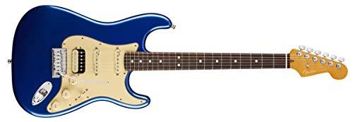 Fender American Ultra Stratocaster HSS Guitarra eléctrica (RW, azul Cobra)