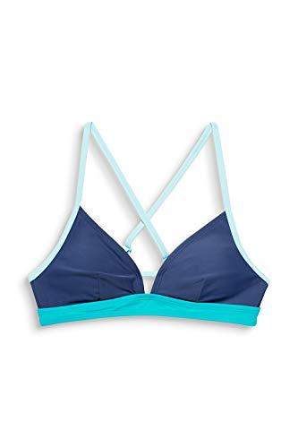 ESPRIT wear Damen Ross Beach Padded Bra sportlich Bikini, 470, 38