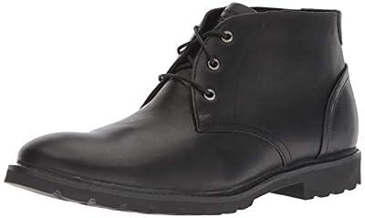 Rockport Men's Sharp & Ready Chukka Boot, black, 10.5 W US
