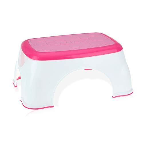 Nuby Step Up Stool, Pink