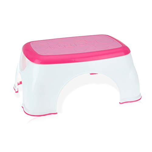 Nuby Step Up Stool, Pink