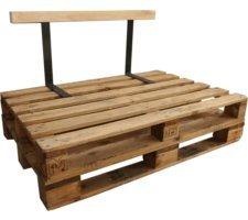 Respaldo madera sofá palet