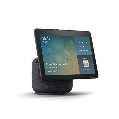 Nuevo Echo Show 10 - Pantalla inteligente HD con movimiento y Alexa - Negro