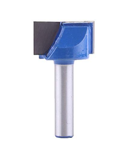 Meccion Broca industrial de limpieza de fondo Dado de 8 mm, vástago de 25 mm de diámetro de 14 mm de longitud de la hoja de carburo de grabado profesional de carpintería herramientas de corte