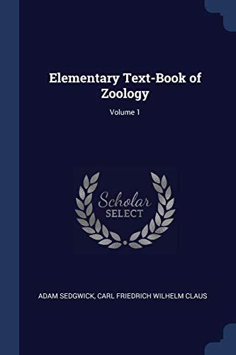 ELEM TEXT-BK OF ZOOLOGY V01
