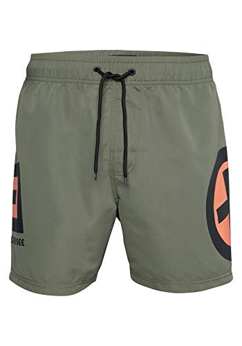 Chiemsee Herren Men Badeshorts, Dusty Olive, XL