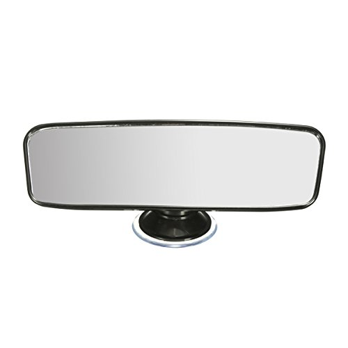 LIOOBO Car Interior Mirror Rear View Universal Interior Mirror Replacement Wide Angle High Clarity (20 x 6 cm)