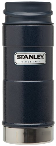 STANLEY(スタンレー) ワンハンド真空マグ 0.35L ネイビー 水筒 01569-010 (日本正規品)