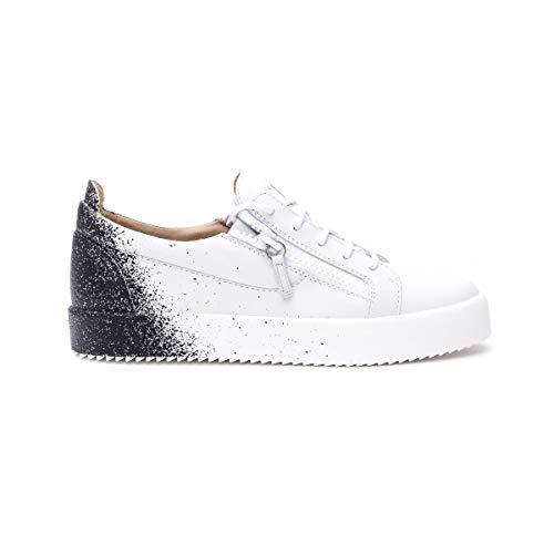 Giuseppe Zanotti Luxury Fashion Design Uomo RM00058001 Bianco Pelle Sneakers | Primavera-Estate 20
