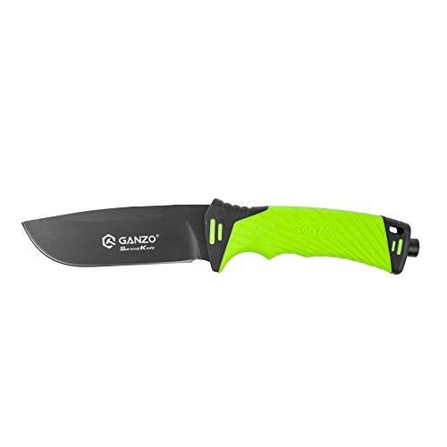Ganzo G8012-LG • FESTSTEHENDE Messer Alltags Messer EDC • Gesamtlänge: 245mm • TM-st.