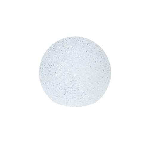 Boule lumineuse Boule Décoration de Noël 10/15/18 cm LED Blanc Chaud Motif lumière d'hiver rond