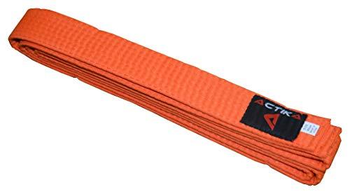 Actika Budogürtel Karate Judo Taekwondo Kampfsport Ju-Jutsu Karategürtel (Orange, 280)